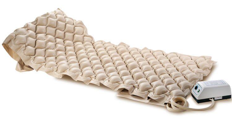 Кровать общебольничная с подголовником с матрасом
